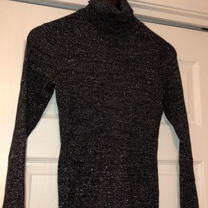 Macy's Style & Co shimmering turtle neck